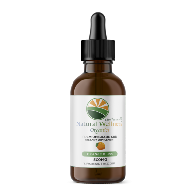CBD Tinctures Orange 500 mg