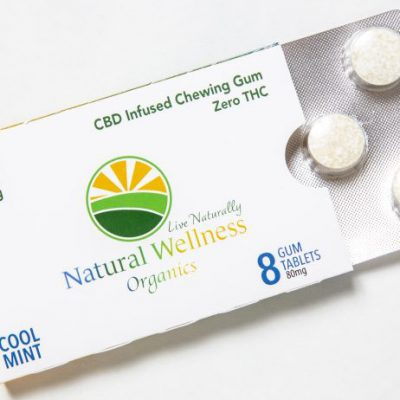 natural wellness cbd gum image