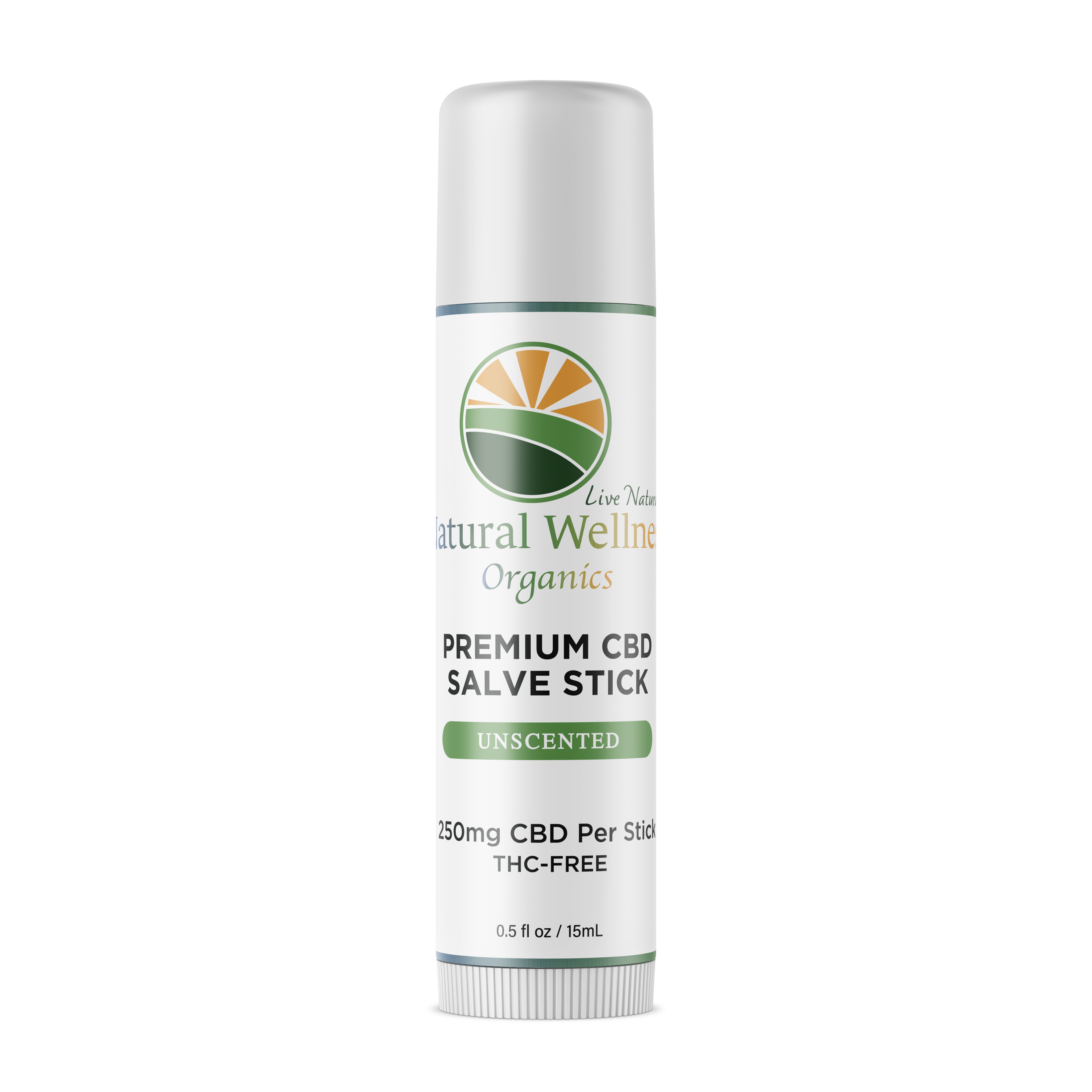 Natural Wellness Organics CBD Salve Stick
